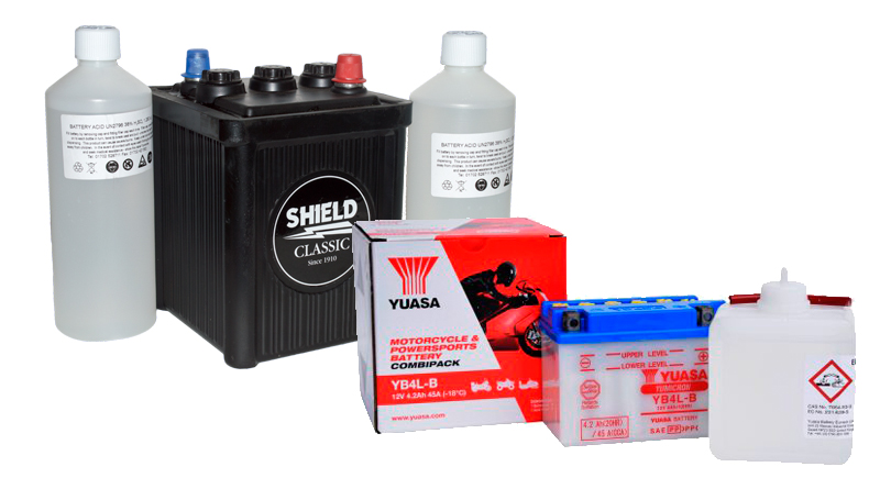 Important UK Announcement: New regulations will change the way motorcycle batteries can be sold