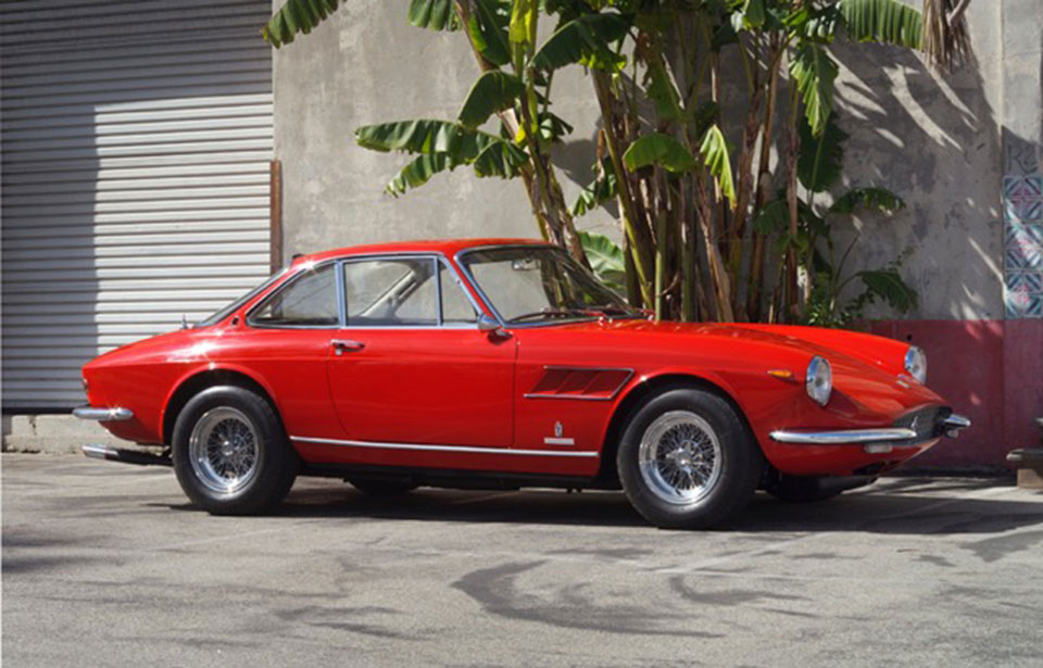Ferrari 330 GTC 1967 Pininfarina - Powered By A Shield Classic 241 Battery