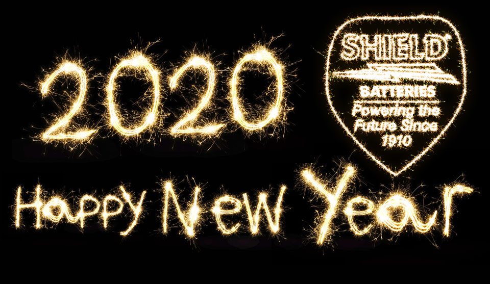 Happy New Year From All At Shield Batteries