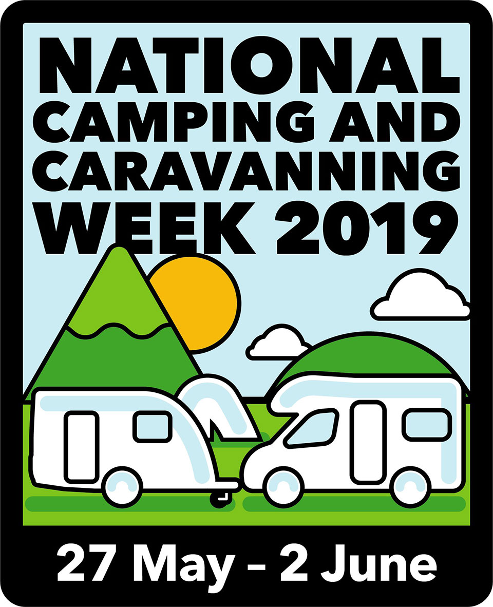 Here's some Top Tips for National Camping & Caravanning Week 2019