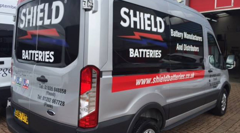 Shield Batteries has another new van to join its fleet!