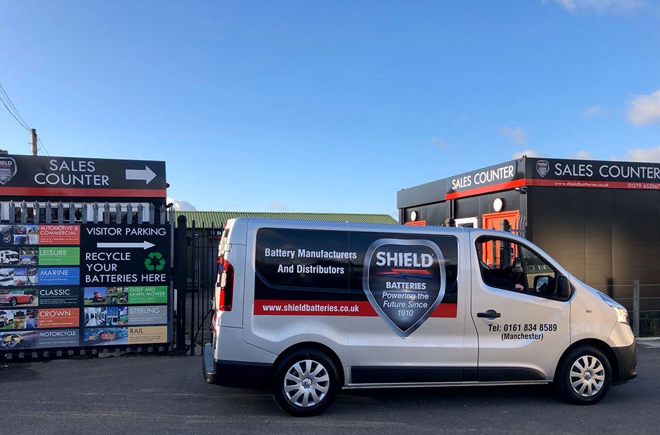 Shield increases its fleet of delivery vans