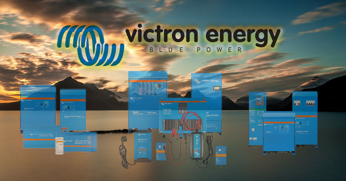Victron Energy at Shield Batteries