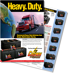 Crown Heavy Duty Brochure
