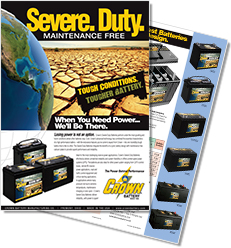 Crown Severe Duty Brochure