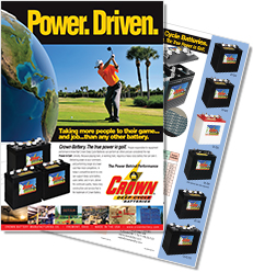 Crown Golf Brochure